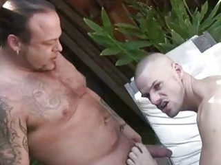 Pool Guy Fucked By His Bear Boss / 33