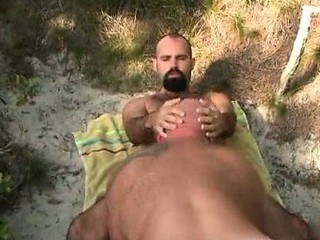 Horny hair and chubby gay men fucking / 222