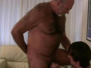 Old gay bear getting his dick sucked by twink gaypridevault / 53