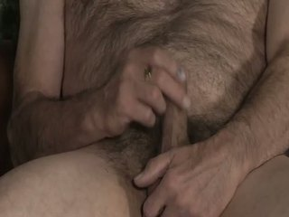 Hairy And Horny Daddy Jerking / 34