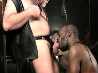 Gay black interracial hardcore BDSM / 110