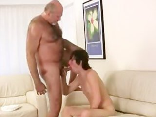 Horny gay bear fucking and sucking part6 / 260