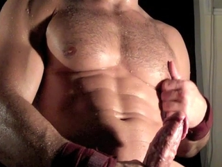 Young Cumming Muscle! / 44